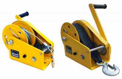Ручная лебедка c тормозом LRT-1800 канат лента купить