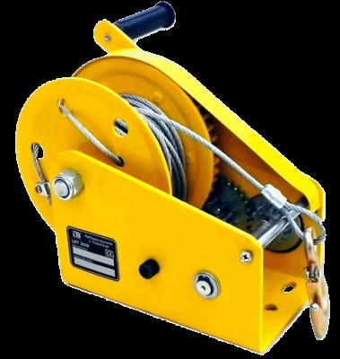Ручная лебедка c тормозом LRT-1800 канат